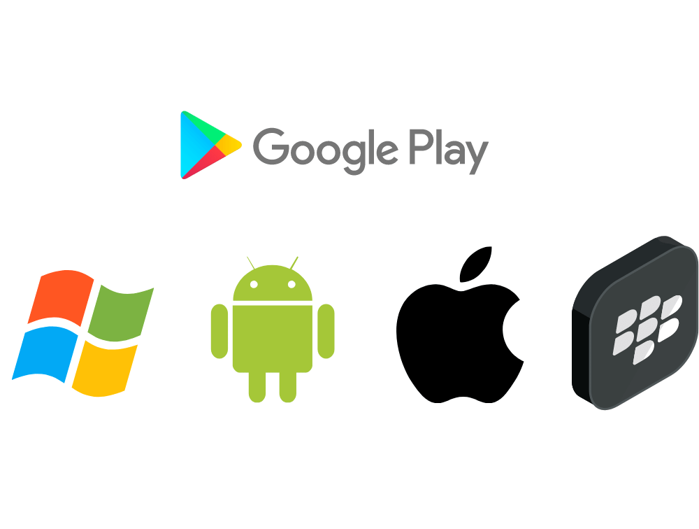 google play store available for