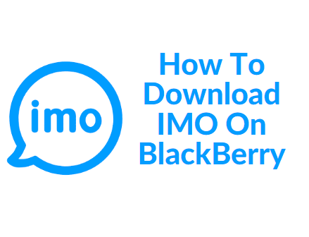 how to download imo on blackberry