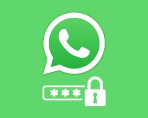 set password for whatsapp chat