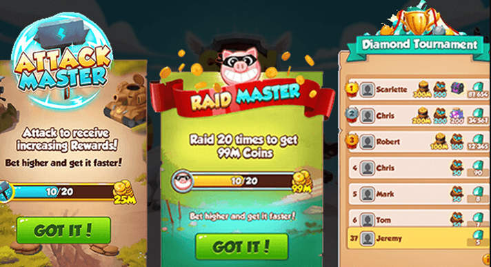 Coin Master Event List 2022 - Play APK PRO